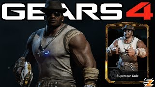 """Gears of War 4 Superstar Cole Gameplay Superstar Cole DLC Character!●Destiny 2 Beta Multiplayer Gameplay First Online Match: http://bit.ly/2uIm9e1●Gears of War 4 Savage Locust Drone Gameplay: http://bit.ly/2u85iyjWelcome back to another Gears of War 4 Video! Today's video we are going to be showcasing Gears of War 4 Superstar Cole Character Gameplay. Within Gears of War 4 Superstar Cole can only be obtained in the DLC Gears of War 4 Superstar Cole Packs. Overall the Gears of War 4 Superstar Cole Packs contain multiple Gears of War 4 Multiplayer Characters including Gears of War 4 Civilian Anya as well as Gears of War 4 Superstar Cole as seen in this video.SUBSCRIBE to stay up to date with the latest """"Gears of War 4 - Gears of War Ultimate Edition"""" (GOW) information!•Twitch: http://www.twitch.tv/sasxsh4dowz•Twitter: https://twitter.com/SASxSH4DOWZ•Facebook: https://www.facebook.com/SASxSH4DOWZ●Intro by Monsty - https://www.youtube.com/user/monstyARTSSubscribe for more videos! - Shadowz---Video upload by SASxSH4DOWZ (Shadowz Gears of War)Gears of War 4 © Microsoft Corporation. """"Gears of War 4 - """"Superstar Cole"""" Character Multiplayer Gameplay!"""" was created under Microsoft's """"Game Content Usage Rules"""" using assets from Gears of War 4 and it is not endorsed by or affiliated with Microsoft.Microsoft Content Usage Rules: http://www.xbox.com/en-US/developers/..."""