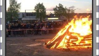 2017 Osterfeuer der Bilker Schützen