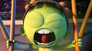 Video Funny Animated Cartoon | Spookiz Brand New Scary Swing Jump Challenge | Cartoon for Children MP3, 3GP, MP4, WEBM, AVI, FLV Agustus 2018
