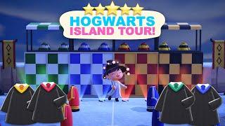 Hogwarts Island Tour!(700 Hours) 5 Star Island Tour in Animal Crossing New Horizons by iHasCupquake