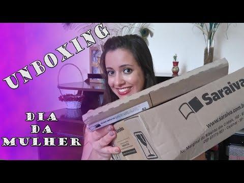 UNBOXING - DIA DA MULHER (SARAIVA-PROMOÇÃO 50%) #55