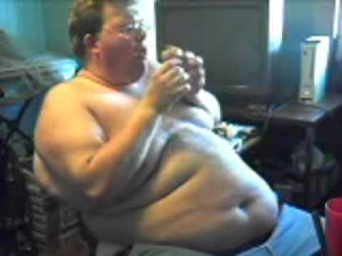 fatman - Fat Man Eats 5 Double Cheese Burgers.