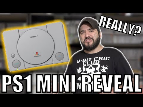 SONY COPIED NINTENDO!... PlayStation Classic REVEALED Reaction | 8-Bit Eric