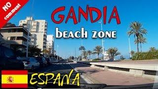 Gandia Spain  City new picture : Gandia, Playa district (Spain). Car trip