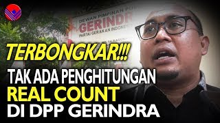 Video Terb0ngk4r! Ternyata Tak Ada Penghitungan Real Count di DPP Gerindra MP3, 3GP, MP4, WEBM, AVI, FLV April 2019