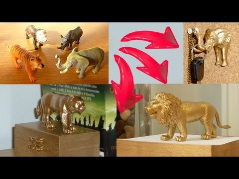 0 Toy Animals Get New Paint Job And Life