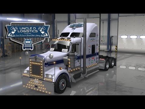 Uncle D Logistics – 2016 Kenworth W900 Lite Skin V1.0