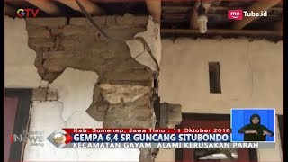 Download Video Gempa Berkekuatan 6,4 SR Guncang Situbondo, 3 Orang Meninggal Dunia Tertimpa Tembok - BIS 11/10 MP3 3GP MP4
