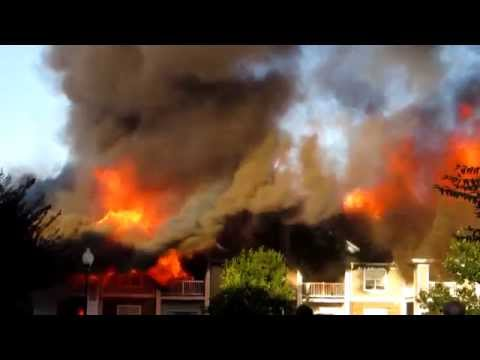 Camden Crest Apartment Fire In Raleigh, NC