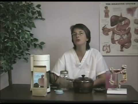 girls perform enemas