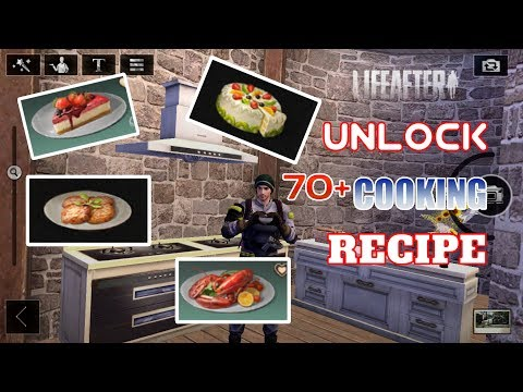 LIFEAFTER COOKING RECIPES 70+ COOKING RECIPES