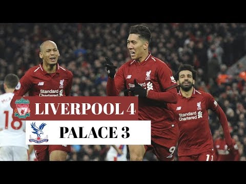 Liverpool 4 - 3 Crystal Palace - Highlights 2019