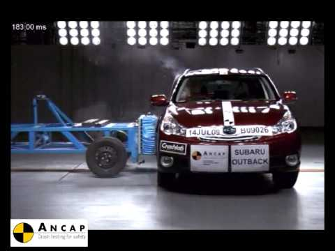Subaru Outback 2009 Crash test