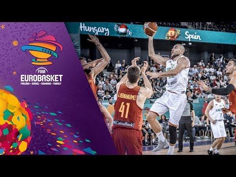Hungary v Spain - Full Game - FIBA EuroBasket 2017_Best videos: Budapest, Hungary