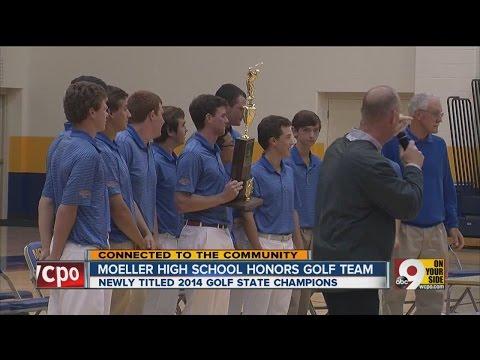 Moeller High School honors golf team