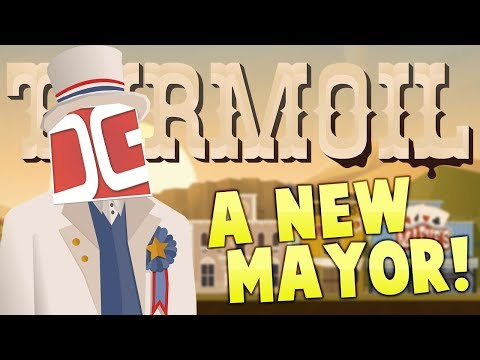 Turmoil - We Have A New Town Mayor! - Game Over - Turmoil The Heat Is On Gameplay (видео)