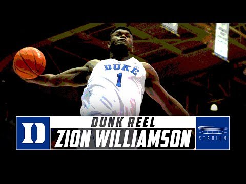 Zion Williamson Dunks: Every Slam From The First Half Of Duke's 2018-19 Season | Stadium