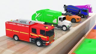 Video Learn Color for kids with Street Vehicles Changing Colors - Colours for Kids Learning Videos MP3, 3GP, MP4, WEBM, AVI, FLV Juni 2017