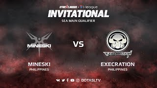 Mineski против Execration, Первая карта, SEA квалификация SL i-League Invitational S3