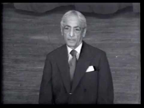 J. Krishnamurti - New York 1971 - Public Talk 4 - Can the mind become quiet?