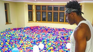 FILLING A ROOM WITH 150,000 BALLS!