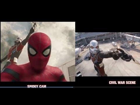 Video Vlogging Spiderman edited w/ Civil War Airport Battle scenes download in MP3, 3GP, MP4, WEBM, AVI, FLV January 2017
