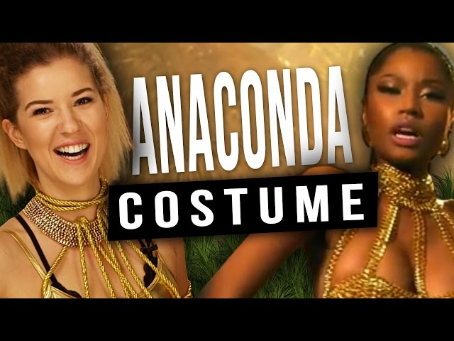 Easy Diy Nicki Minaj Anaconda Halloween Costume | Mp3FordFiesta.com