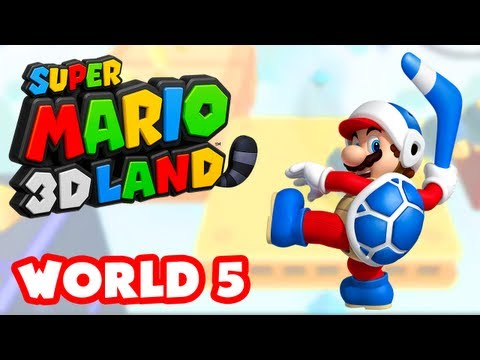 3ds - Thanks for every Like and Favorite! They really help! This is Part 5 of the Super Mario 3D Land Gameplay Walkthrough for the Nintendo 3DS! This video feature...