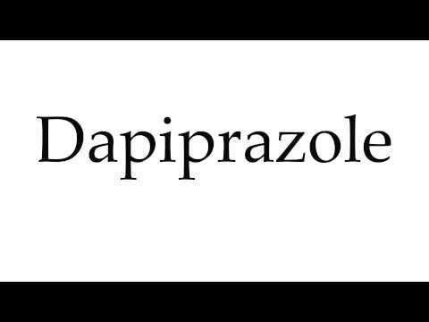 How to Pronounce Dapiprazole