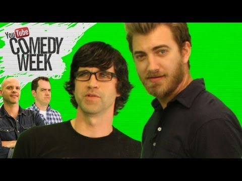 Wednesday - START HERE: http://goo.gl/EdYYK Wednesday's Comedy Week highlights featuring InterviewTube with Rhett & Link. WATCH WEDNESDAY'S HIGHLIGHTS: The Lonely Island...