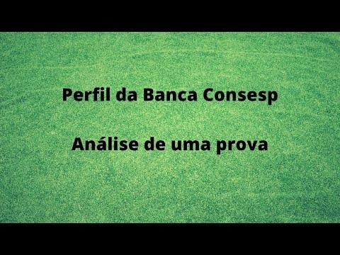 Processo Seletivo Rio das Pedras. Perfil da Banca Consesp - Análise de uma prova.