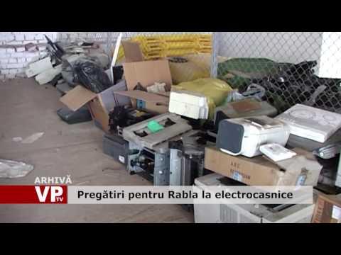 Pregătiri pentru Rabla la electrocasnice