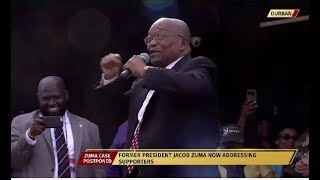"Video Former President Zuma sings his signature tune ""Umshini wami"" MP3, 3GP, MP4, WEBM, AVI, FLV November 2018"