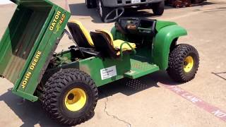 7. JOHN DEERE GATOR CARBURETOR FULL OF DIRT AND DAND AND HOW TO FIX