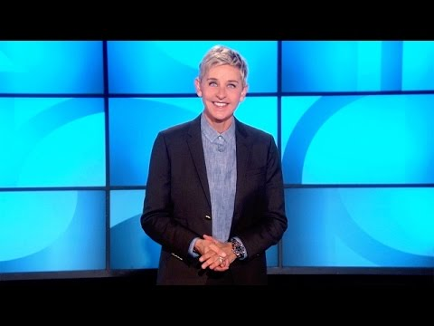 Ellen on United Airlines