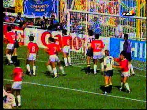 Italia 90′ Costa Rica – Escocia Primer tiempo