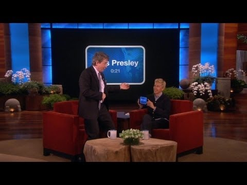 UP - Ellen challenged the brilliant impressionist to a round of her new game,