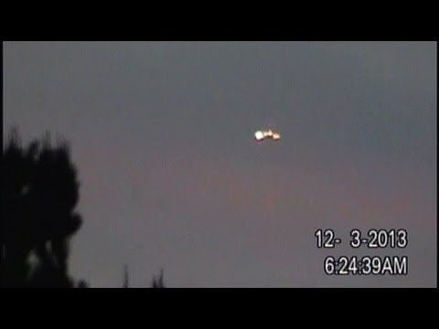 Breaking News! UFO Sightings Massive Flying Saucer Today Watch Now!  Dec 3 2013