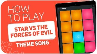 Video How to play: STAR VS THE FORCES OF EVIL (Theme Song) - SUPER PADS - Kit Princess MP3, 3GP, MP4, WEBM, AVI, FLV Januari 2018