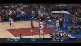Allen Iverson Highlights vs LA Clippers 09/10 NBA *The last NBA game of the Decade *TNT Countdown