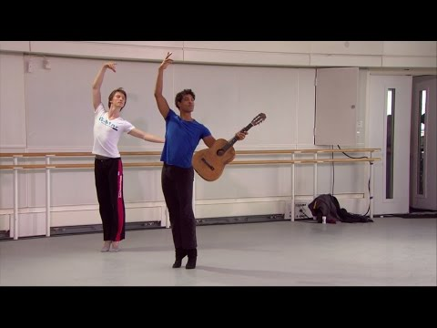 Don Quixote in rehearsal - World Ballet Day 2014 (The Royal Ballet)