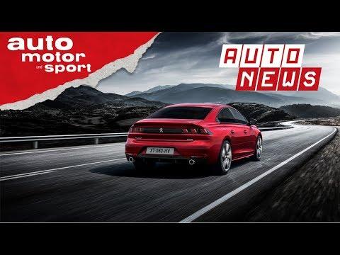 Peugeot 508 (2018): Angriff auf die Mittelklasse - NEWS ...