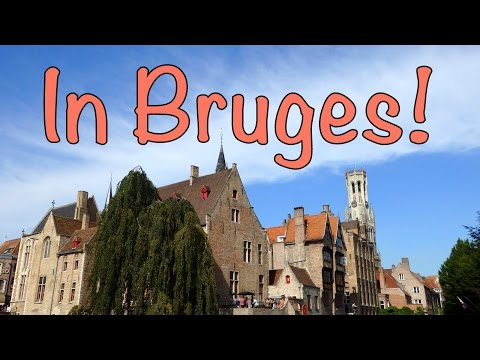 Our first impressions of Bruges, Belgium