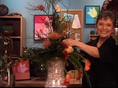 Create Large Floral Arrangements in Grandeur Glass