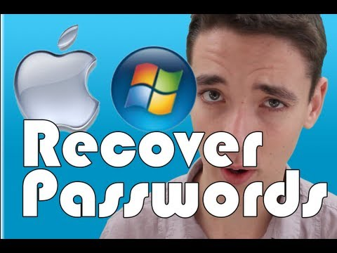 Recover Forgotten Passwords on Windows+Mac (Facebook,Gmail, Hotmail....)