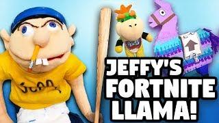 SML Parody: Jeffy's Fortnite Llama!