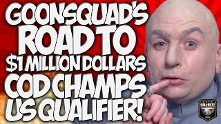 THE #GOONSQUAD's ROAD TO COD CHAMPS! US ONLINE QUALIFIER! THE GREATEST COMP TEAM EVER!!