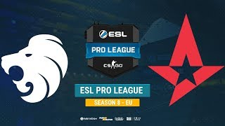 North vs Astralis - ESL Pro League S8 EU - bo1 - de_inferno [Mintgod, Gromjke]
