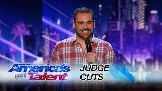 The world record for most times surviving lightning strikes is 7! Harrison delivers a hilarious performance on this topic. » Get The America's Got Talent App: ...