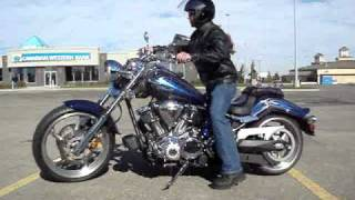 9. 2010 Yamaha Raider S , video 2.